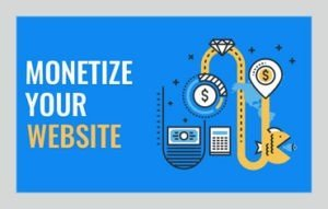 monetize your website