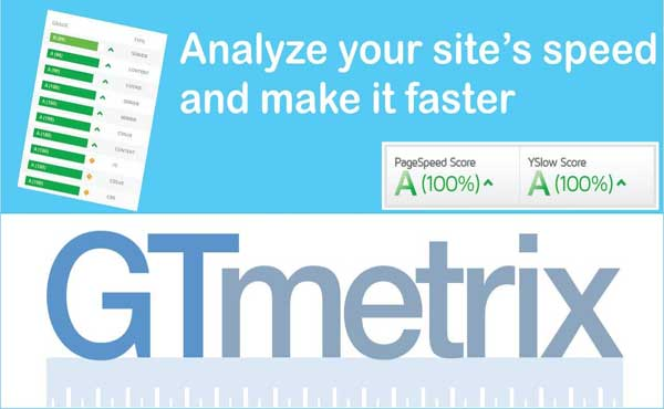 GTMetrix site speed analysis is one of the must have online business tools