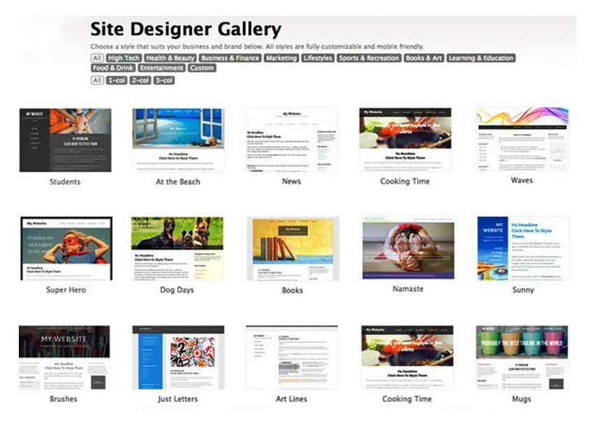 SBI design gallery document