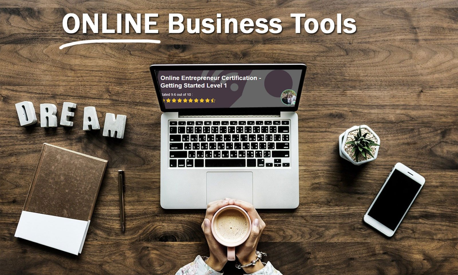 Must have online business tools header image