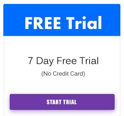 Builderall free trial button