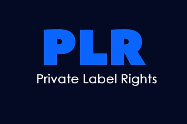 PLR - Private-Label-Rights