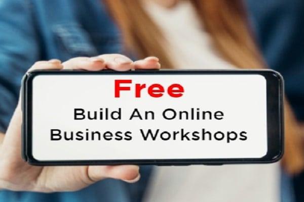 free build a businesss online workshops