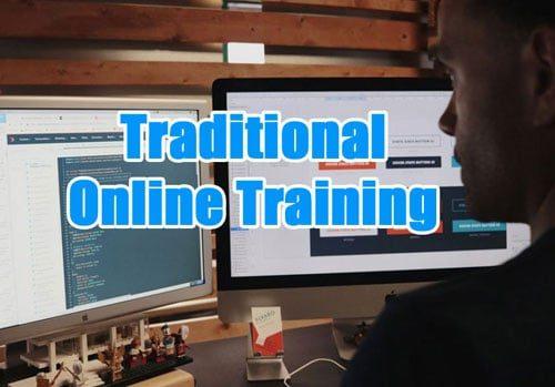 train online banner